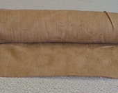 Burlap Custom Made Aisle Runner 50 ft with pull cord
