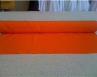 Orange Custom Made Aisle Runner