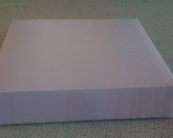 Custom Made Wedding Cake Stand White Satin