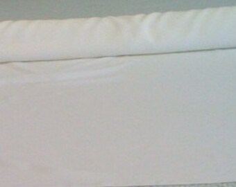 Extra Wide Custom Made Aisle Runner Two Colors Ivory Gabardine and Champagne   Satin