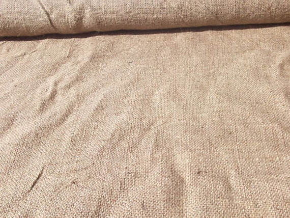 Burlap Fabric 40 Inches wide one yard listing