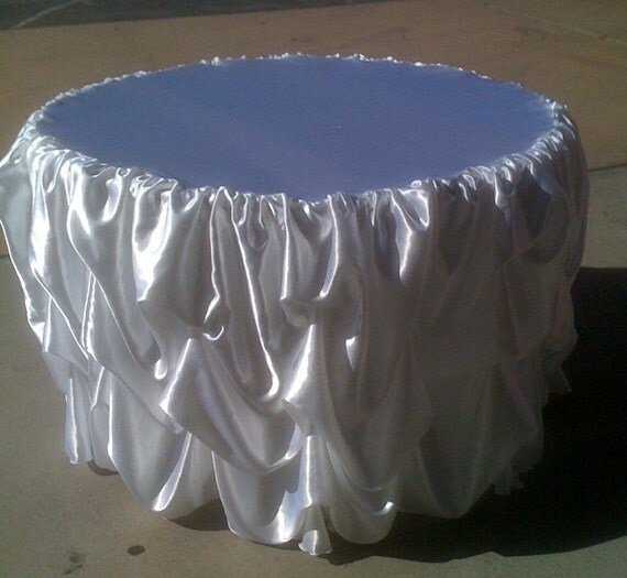 Head Table I Like The Cake Behind The Head Table So You: Custom Made Wedding Cake Table Tablecloth White Satin For 48