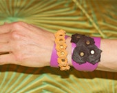 Handmade Yami Leather Bracelet Combo