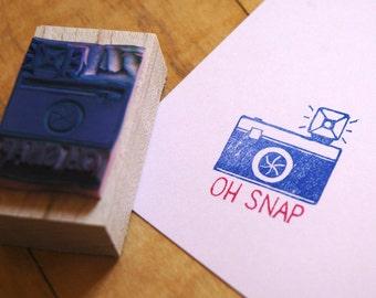 Oh Snap Camera Stamp