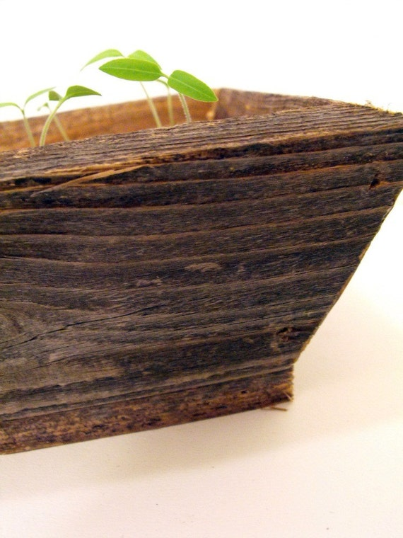 Reclaimed Cedar Planter