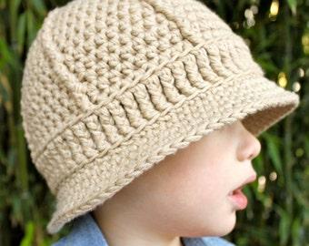 Safari Helmet  - Crochet Pattern - Permission to sell finished items