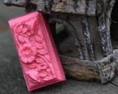Victorian Floral English Rose Soap