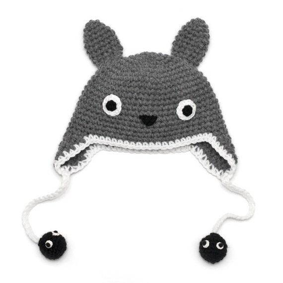 Crochet Pattern Totoro Hat Pakbit For