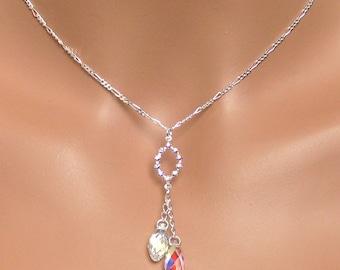 Sydney Bridal Necklace - Crystal Bridal Jewelry, Bridesmaids Gifts, Wedding Jewelry, Gifts, Bridesmaids Jewelry