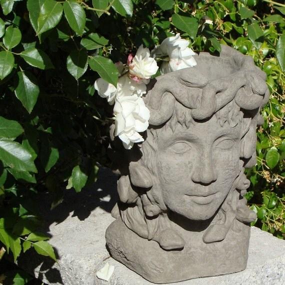 Unavailable listing on etsy - Medusa head planter ...