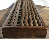 Japanese Abacus (Soroban). Antique, between 1850 - 1930. Wood.
