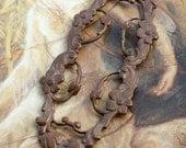 Wonderfully Detailed Very Old Brass Openwork Piece