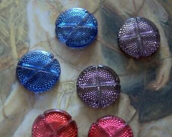 Vintage Talle De Epargne Glass Art Deco Stones