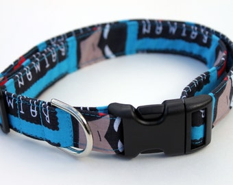 Batman Dog Collar Size Medium Superhero Comic Cartoon Size XS, S, M or L