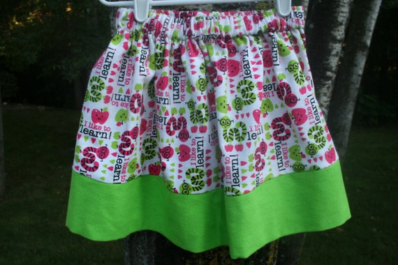 Bookworm Twirl Skirt