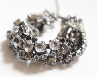 30% OFF SALE Miss Rock and Roll Sparkle Bling Bling Rhinestone Bracelet