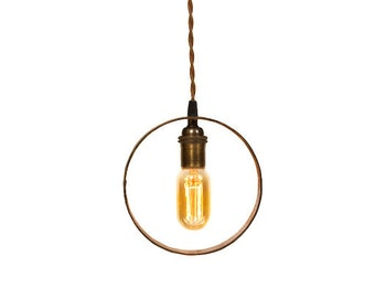 Simply Modern Wheel Hub Pendant (small)