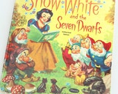 Snow White and the Seven Dwarfs- Disney Vintage Children's Book