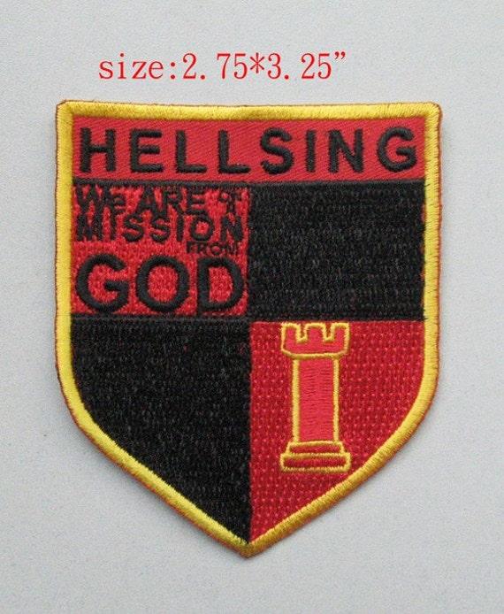 Hellsing Shield Cosplay Patch