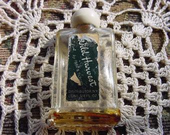 Wild Harvest by Park & Tilford Vintage Glass Perfume Mini