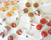 24 Piece Variety Lollipop Christmas Holiday Special-Vegan-Birthday-Wedding Favors-Made In Hawaii-Hard Candy Suckers-Choose up to 4 Flavors
