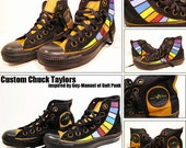 Custom Chuck Taylors: Guy-Man (Daft Punk)