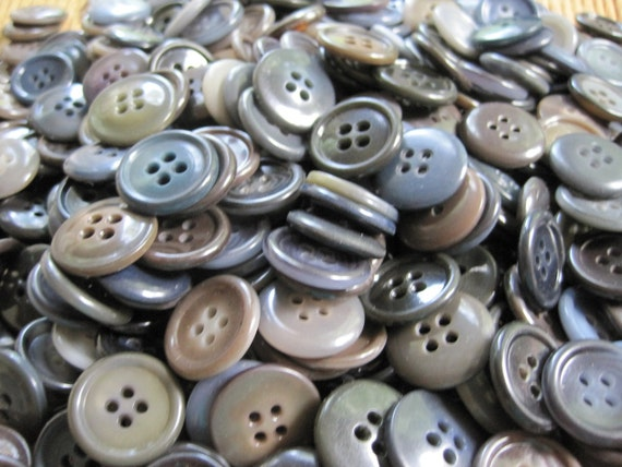 Vintage Suit Buttons lot of 100