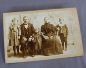 19th C Cabinet Card Photo Family from Columbia PA