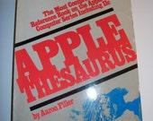 Apple Computers Thesaurus Paperback  by Aaron Filler ISBN 0 088190 346 9