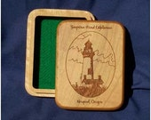 "Single Deck Playing Card Box - ""Yaquina Head Lighthouse"""