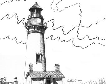 Yaquina Head Lighthouse - Note Card Package