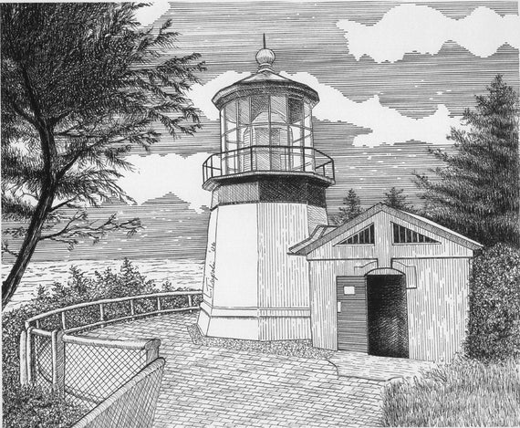 Oregon Coast Lighthouse Assortment - Note Card Package