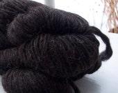 bay black lopi style icelandic yarn chunky single ply bulky