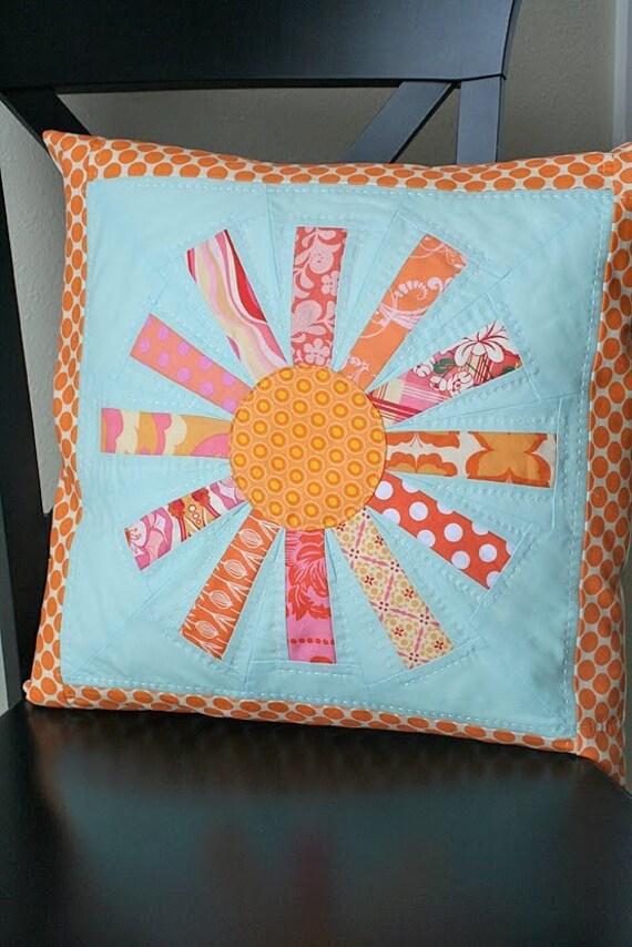 Wonky Sun Pillow