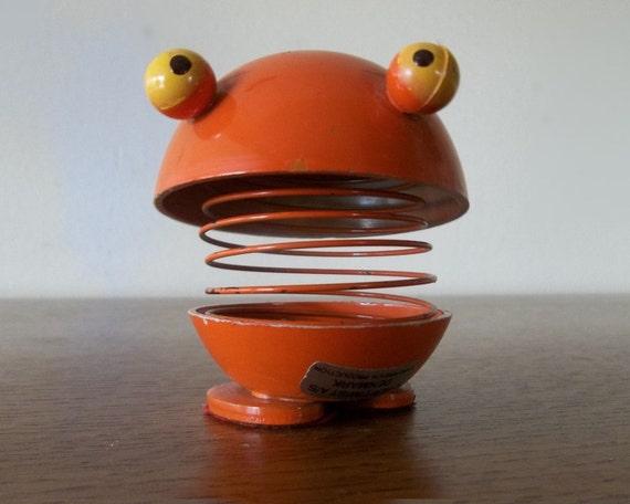 1960s Danish Modern Gustav Ehrenreich Hoptimist  Nodding Figure Toy 60s RESERVED