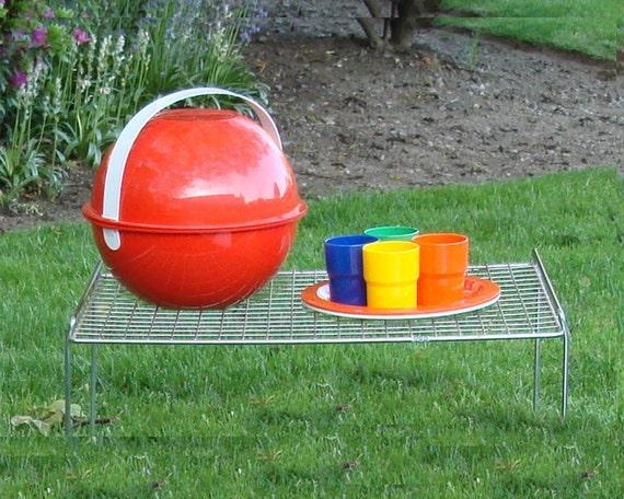 Picnic Basket Dish Set : Mod ingrid picnic ball dinnerware basket set by jbhoffman