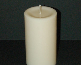All Natural Soy Pillar Candle