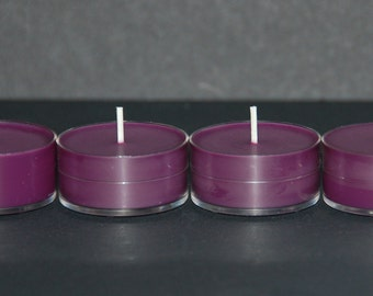 Lavender - Set of 12 All Natural Soy Tea Lights