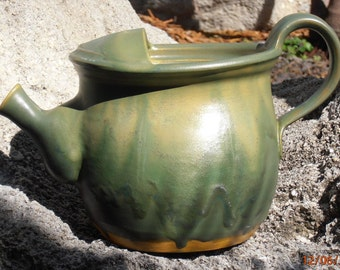 Vase, Pitcher, Watering Can with pour spout for gardens and patios, Indoor and Outdoor #IO 001