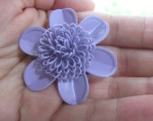 Vintage Brooch Lavender Flower