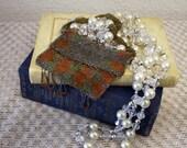 1910 1920 Art Deco Gatsby Beaded Steelcut Purse with Czechoslovakian Influence vintage purse antique purse Czechoslovakia bead 3-25