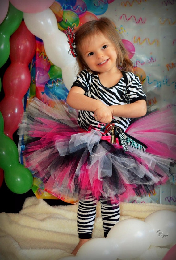 Emma Tutu, zebra 1st birthdays, Newborn Tutu, Baby Tutu, Tutus for children, Flower Girl tutu, 1st birthday tutus, birthday tutu