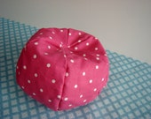 Barbie Furniture - Pink Polka Dot Bean Bag Chair - Free Shipping to anywhere in the USA