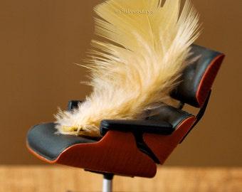 Feather Eames Lounge Chair Mid Century Modern Retro Mini Office Fine Art Photograph 8x10