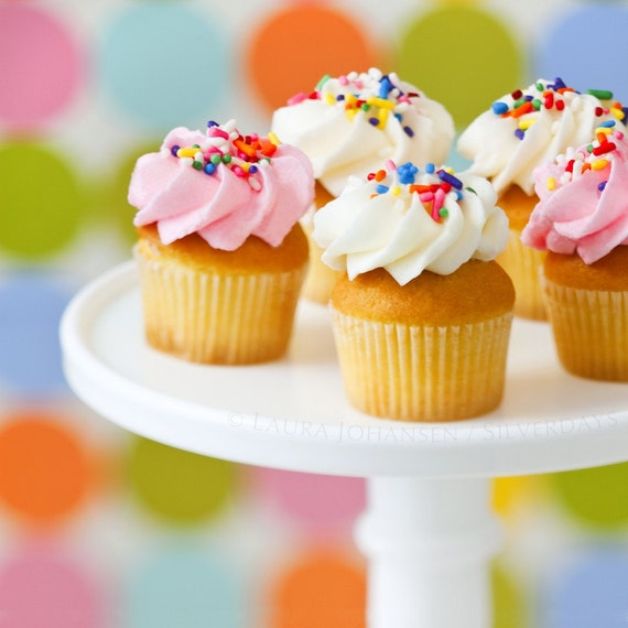 Cupcake Kitchen Decor: Mini Cupcakes Kitchen Decor Kitchen Art Wall Decor Wall Art