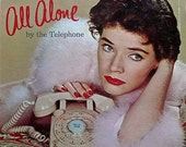 Polly Bergen All Alone By The Telephone Vintage Record