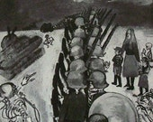 1945 print. Orderly Retreat