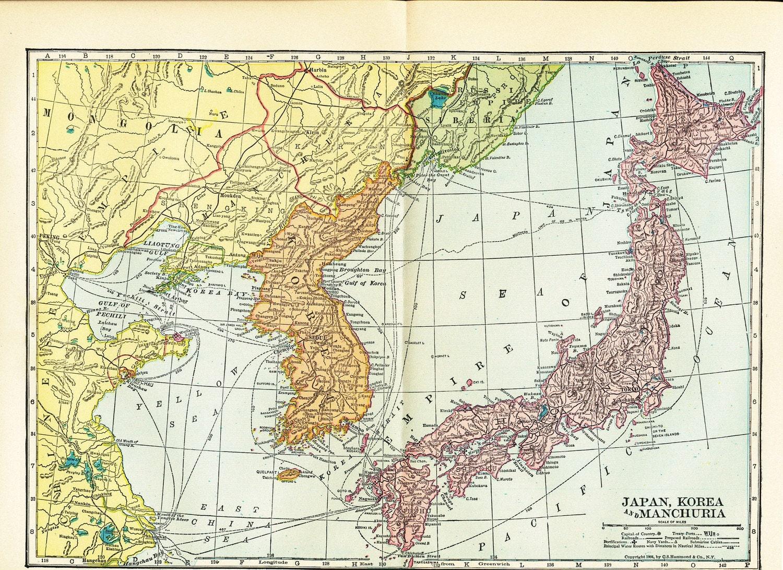 Manchuria Map