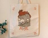 Tote Bag - Bird Head