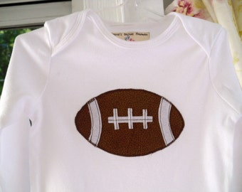 Football Bodysuit Faux Leather